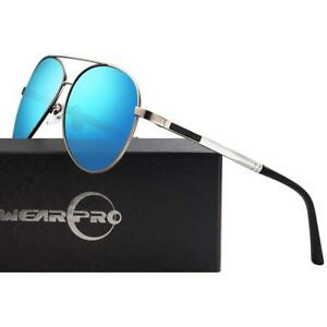 6119a667485 Image is loading Aviator-Sunglasses-for-Men-Polarized-Premium-Military-Style -