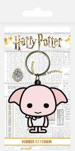 Harry Potter 4,5x6 cm Dobby Gummi Schlüsselanhänger Keyring ca