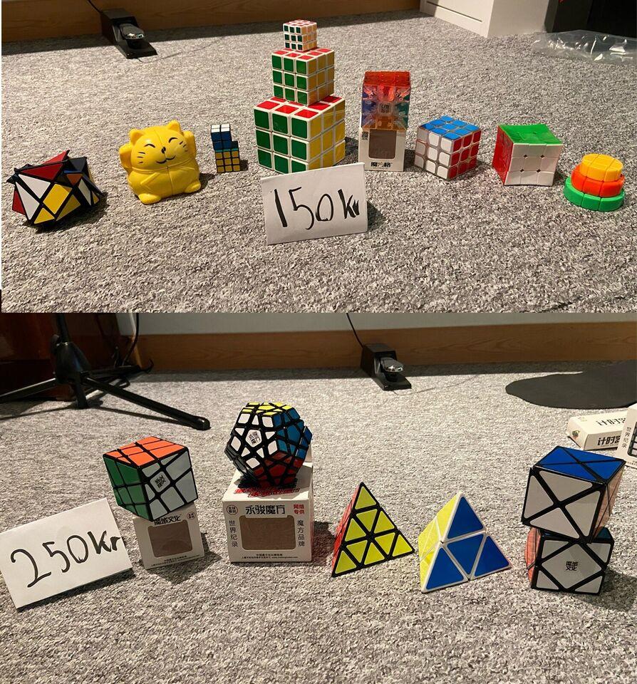 Andet legetøj, Rubiks Cubes