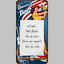 Notizblock-mit-Magnet-American-Diner-Stars-and-Stripes-Kuhlschrank-Kuche 縮圖 5