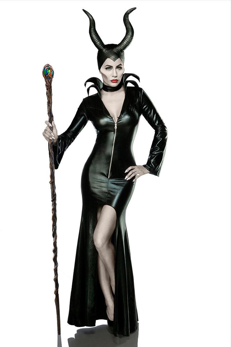 Sexy Femmes Sorcière Halloween Costume Costume Costume Carnaval Diable ensemble complet XS S M L XL XXL 54 d413c5