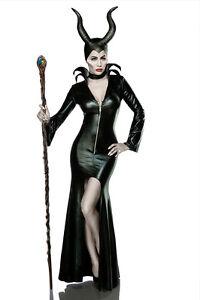 das bild wird geladen sexy damen hexe halloween kostuem karneval teufel komplettset