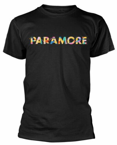 Officiel Paramore T Shirt Couleur SWATCH Classique Homme Punk Rock Tee Noir Nouveau