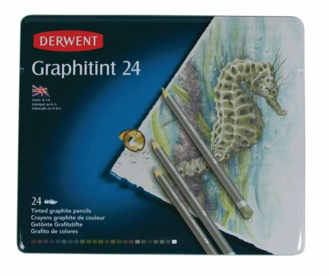 Derwent Graphitint 24 Pencil Tin