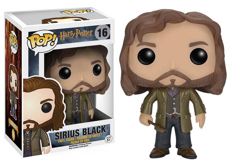Funko Pop Sirius Black 16 Avec Baguette Harry Potter Original Neuf