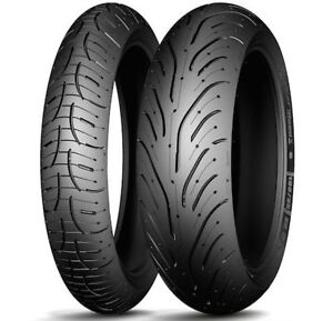 COPPIA-PNEUMATICI-TYRES-T-MAX-120-70-15-56H-160-60-15-67H-MICHELIN-PILOT-ROAD-4