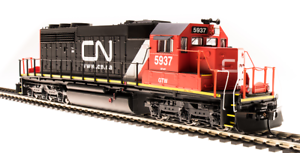 BROADWAY LIMITED 5367 HO SD40-2 Canadian National 5937 GTW Paragon3 Sound DC DCC