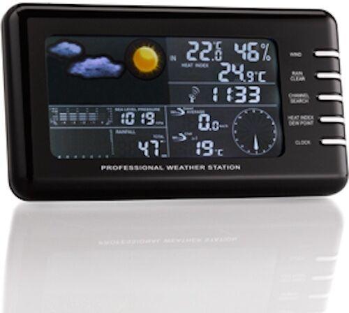 Ventus W177 colour screen screen screen wireless weather station with 3 external sensors 2ea93e