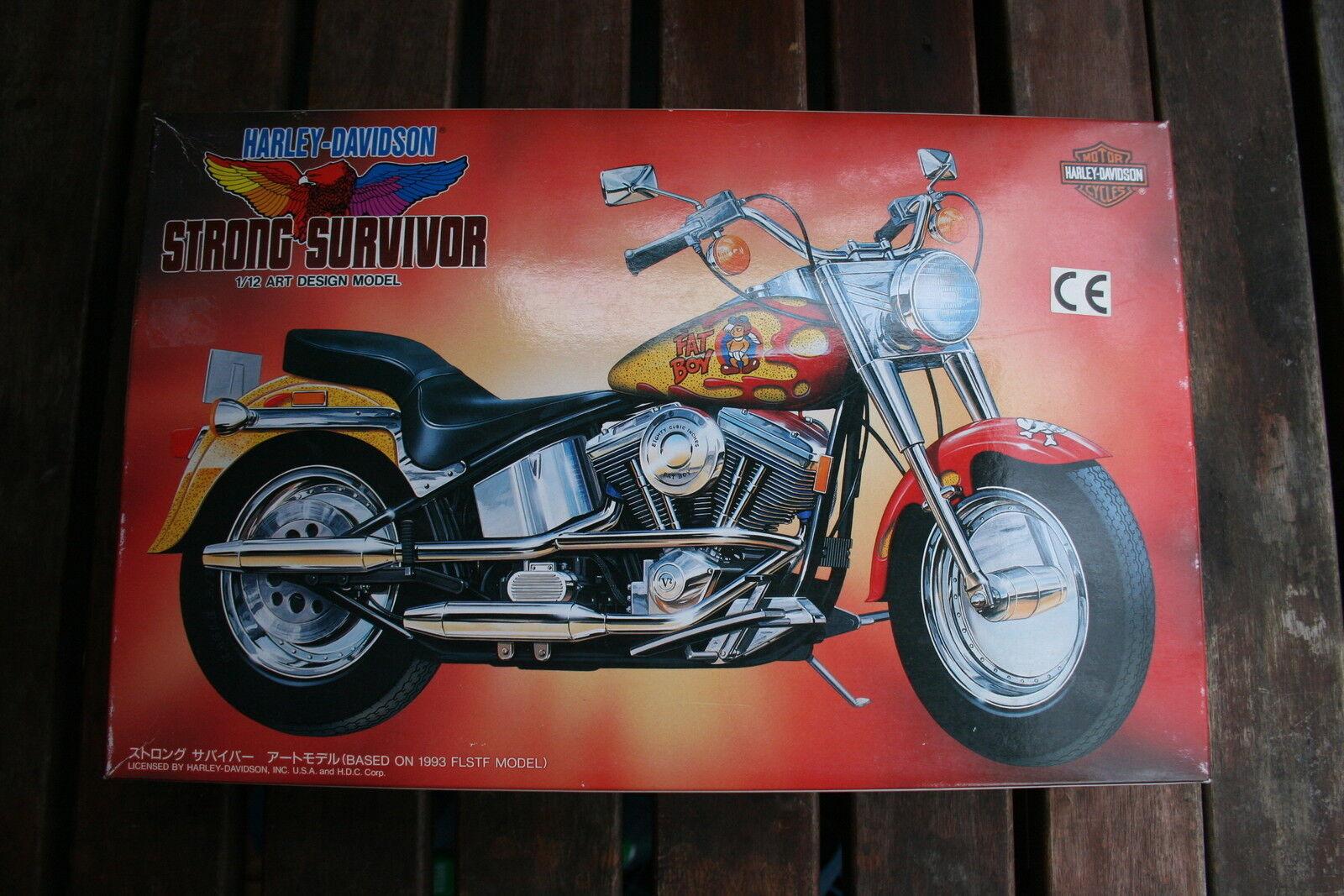 Imai Harley Davidson Fat Boy 1 12 strong Survivor-Made in Japan -