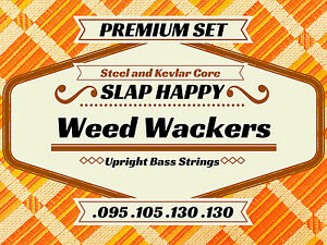 New-HALF-SET-PREMIUM-Synthetic-GUT-Upright-Double-Bass-Weedwacker-STRINGS