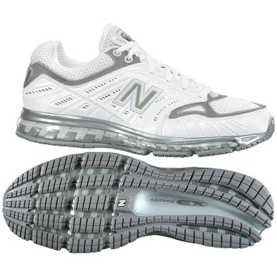 New Balance WR1350SL White/Silver Running Shoes 7