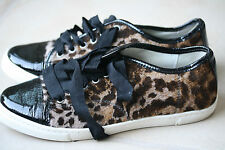 LANVIN LEOPARD PUMPS SNEAKERS 38 UK 5 US 8