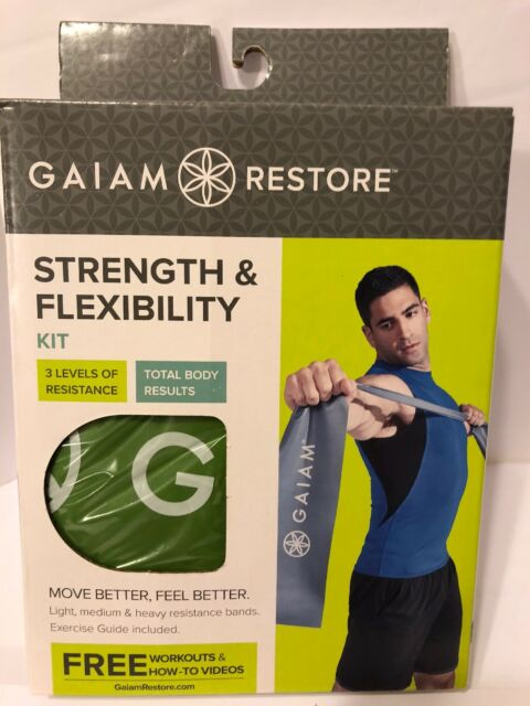 Fitness & Jogging Gaiam Restore Strength And Flexibility Kit