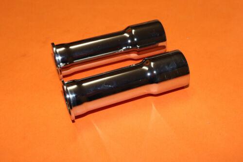 TRIUMPH 3TA 5TA T90 T100 EARLY UNIT CHROME PUSHROD TUBES 1957-63 70-3755 UK MADE