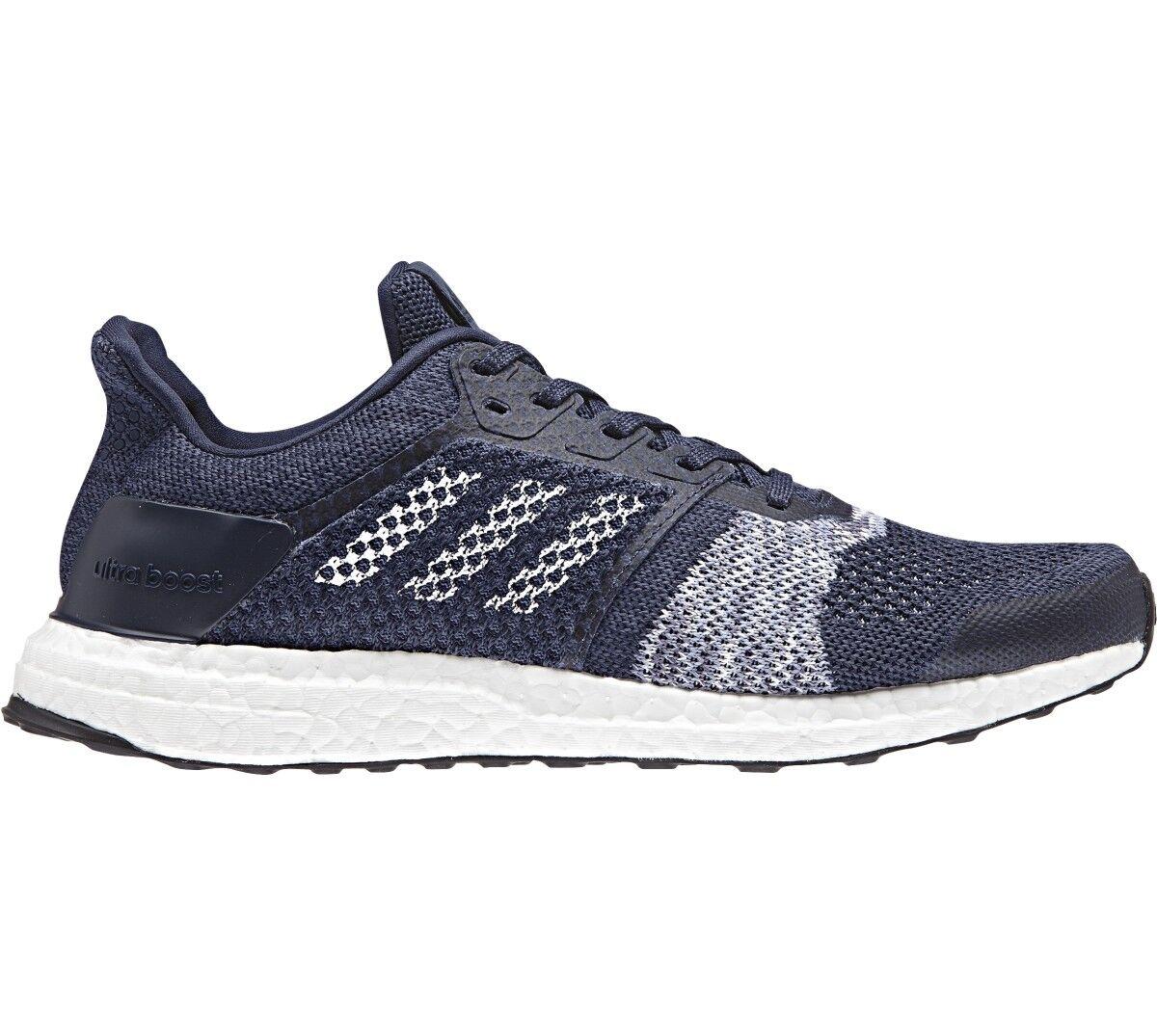 Los hombres de adidas ultraboost St Negro running zapatos Azul / Negro St 5db2cb
