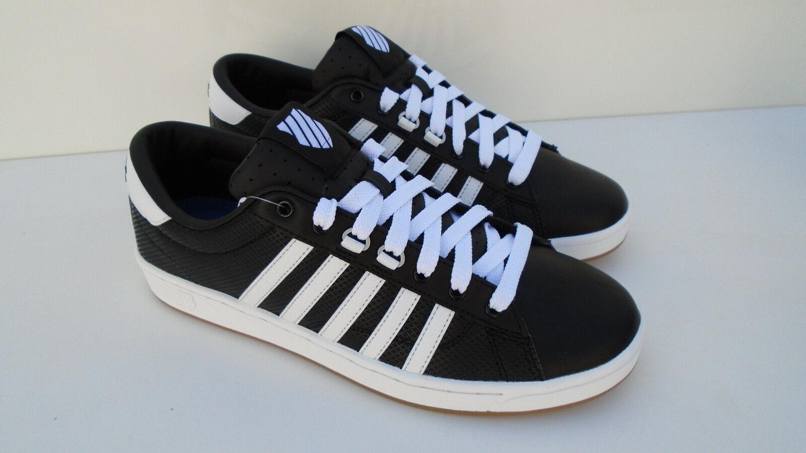 K-Swiss Chaussures Hommes Noir Blanc Hoke EQ CMF Sneaker Sneaker Sneaker Chaussures de sport 47 NEUF | Valeur Formidable  c0d6fc