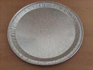 31cm Aluminium Foil Pizza Dish Tray Disposable Oven Bake