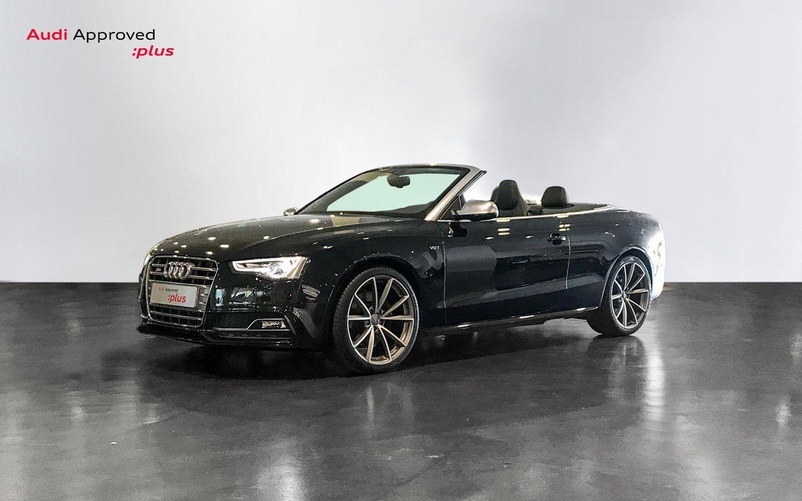 Audi S5 3,0 TFSi Cabriolet quattro S-tr. 2d - 750.000 kr.