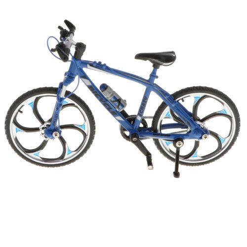 Handwerk Fahrrad Spielzeug 1//10 Alloy Diecast Mountainbike Modell Dekor Blau