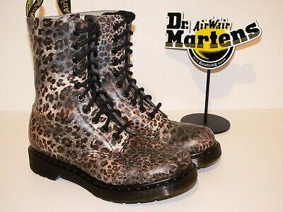 Dr. Martens 14610 leopard print leather