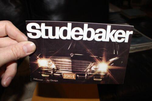1964 Studebaker Small Brochure Lark Daytona Wagonaire Dealer vintage