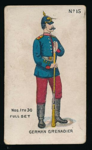 1910 E7 CandyCaramel MILITARY SERIES #15 German Grenadier Tough Type