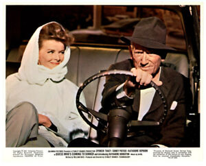 KATHARINE-HEPBURN-SPENCER-TRACY-lobby-card-1967-GUESS-WHO-039-S-COMING-TO-DINNER