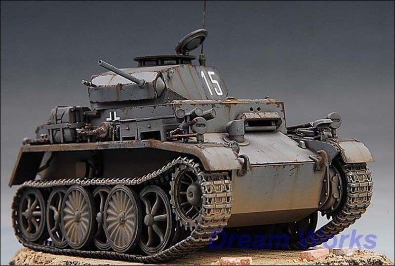 Awared ganador construido  Hobby Boss alemán Pz.kpfw.i Ausf.c vk601 Tanque