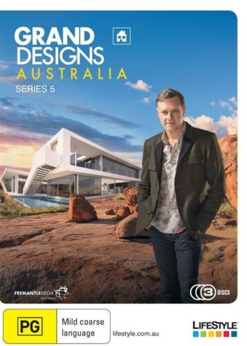 1 of 1 - Grand Designs Australia : Series 5 (DVD, 2015, 3-Disc Set)*R4*Terrific Condition