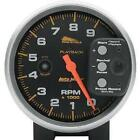 Auto Meter - 19266 - 5in. Playback Tachometer, Black Face