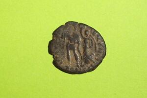 Arcadius-383-AD-408-AD-genuine-ancient-ROMAN-COIN-victory-crowing-emperor-VG-old