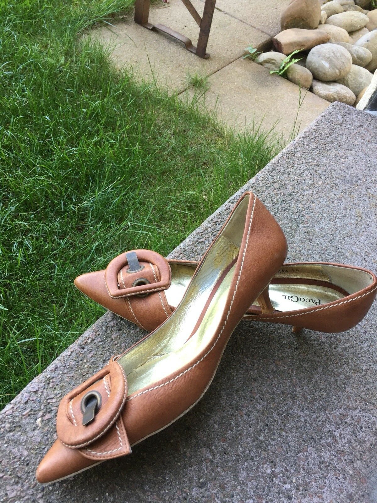 100% nuovo di zecca con qualità originale Paco Paco Paco Gil scarpe donna Taglia 40 COGNAC Top  migliore offerta