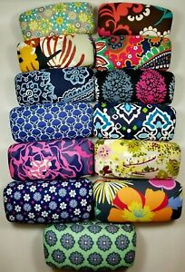 Vera-Bradley-Glasses-Case-Hard-Clamshell-Large