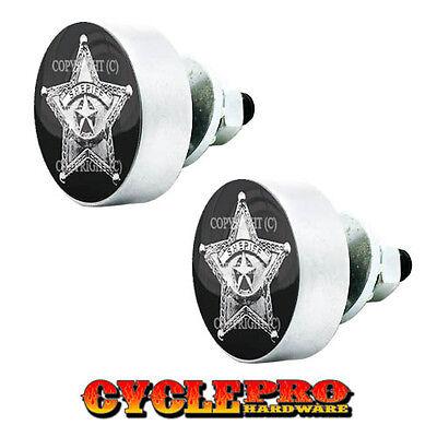 4 Custom Black LG License Plate Frame Tag Bolts SILVER SPIDER 024