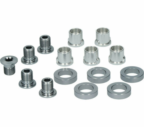 Shimano chainring screws for FC-6703 inner chainring M8 x 9.1mm 5 pieces
