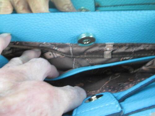 Couleur Etiquette Canard Bleu Wilson Neuf Cuir Aucune Sac Bandoulière En wq51g