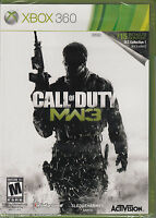 Call Of Duty Modern Warfare 3 Microsoft Xbox 360 Brand Sealed Cod