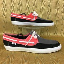 6a87886061 item 6 VANS CHAUFFEUR 3 Tone Gray Coral Black Surf Sider Rata boat deck skate  shoe 10.5 -VANS CHAUFFEUR 3 Tone Gray Coral Black Surf Sider Rata ...