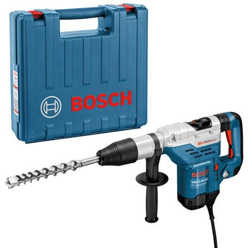Bosch Marteau burineur perforateur//burineur//guitariste 5-40 DCE avec SDS-Max en artisans valise