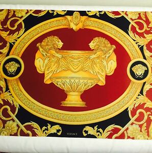 medusa lion plate mat placemat bar dinner table mat barocco salon versace new ebay. Black Bedroom Furniture Sets. Home Design Ideas