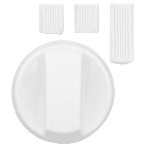 Premium Blanc cuisinière four Grill Cuisinière Bouton Contrôle Cadran et adaptateurs pour poêles