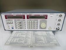 Rohde Amp Schwarz Mdl Smy 01 Signal Generator 9khz 1040ghz Oc48