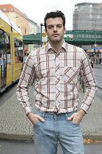 VEB HEMDENKONFEKTION Rodewisch Herren Hemd shirt 80er True VINTAGE 80´s men hell