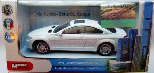 Mondo Mercedes Benz  CL Coupe weiß in 1:43  Neu /& OVP