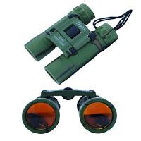 12x30 Fernglas Jäger Fernrohr Zoom Grün Klappbar Binocular + Tragetasche