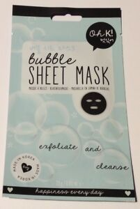 Oh K! -  Exfoliate And Cleanse Bubble Sheet Mask 23g