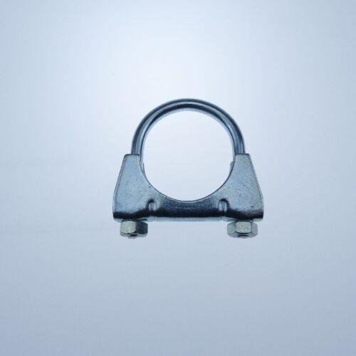 Auspuffschelle Bügelschelle M8 Ø36mm 5 Stück verzinkt