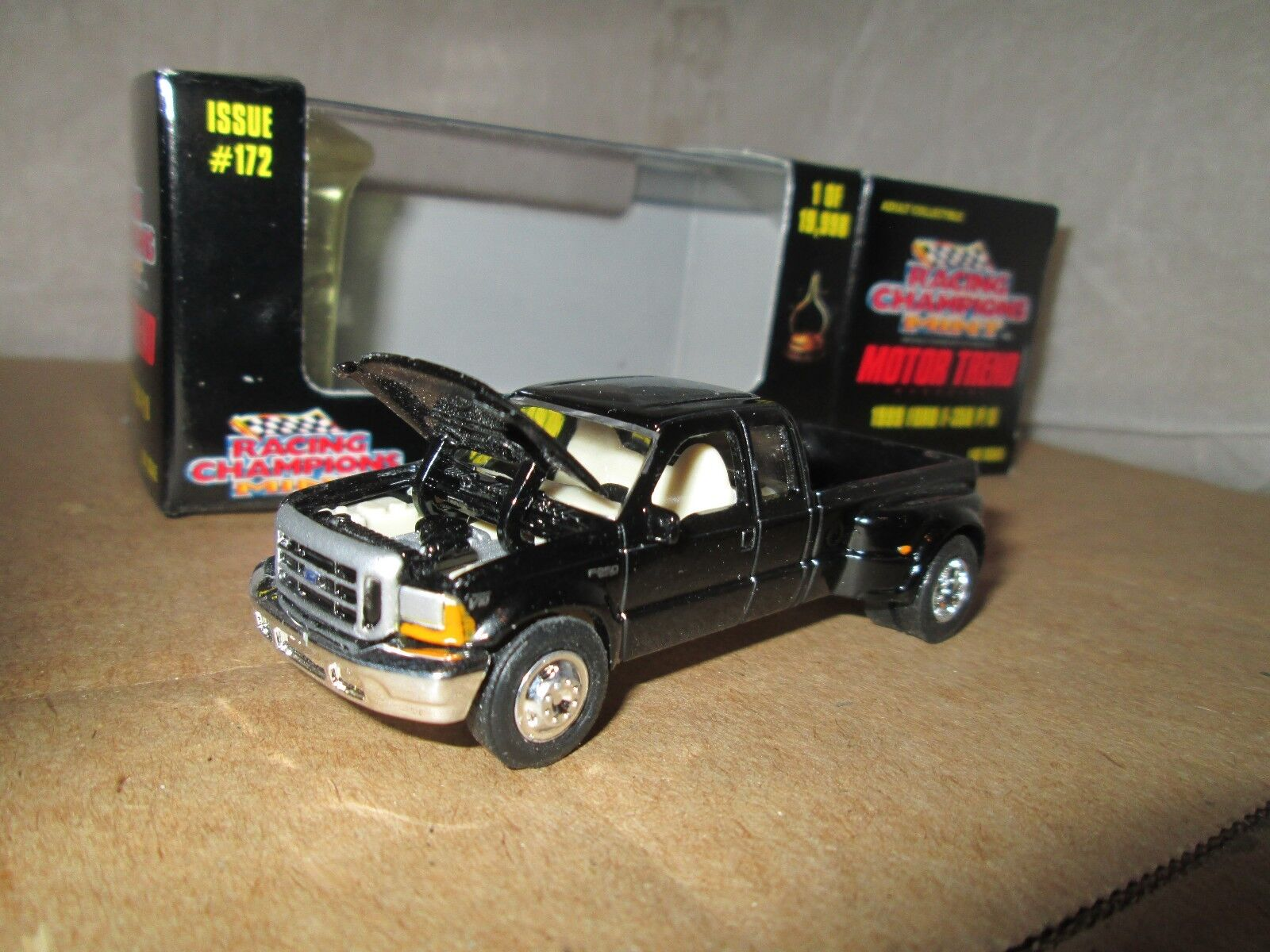 1999 99 Ford F350 Camioncino Scoperto Pick-Up P U Nero Duplice Ranch