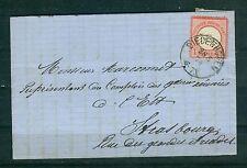 Deutsches Reich 19 EF von Diedenhofen -- Strassburg i.E.