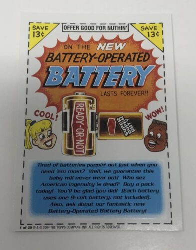 Details about  /2004 Wacky Packages Series 1 Stickers #44 Smellio's